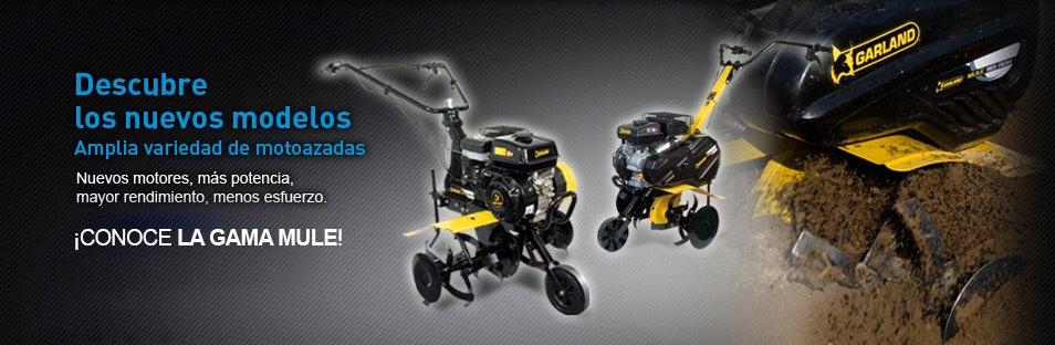 Nuevos modelos motoazada GARLAND